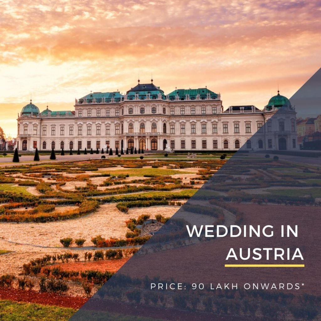 Destination Wedding in Austria, Vienna by DWC wedding packages