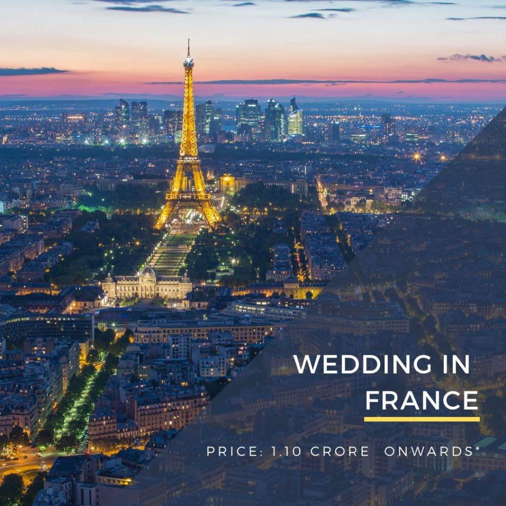 Destination Wedding in France DWC wedding packages