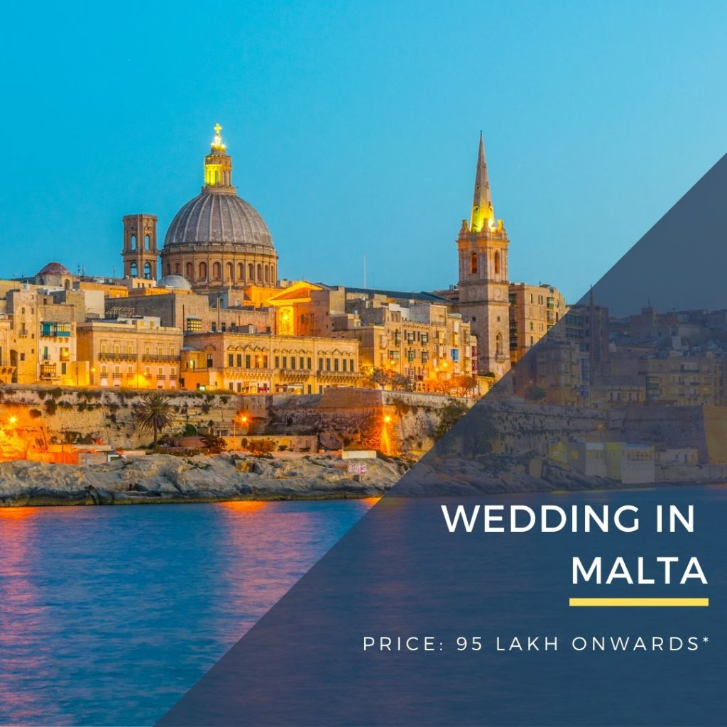 Destination Wedding in Malta by DWC wedding packages