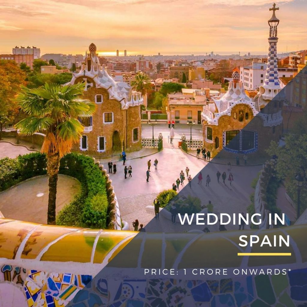Destination Wedding in Spain DWC wedding packages