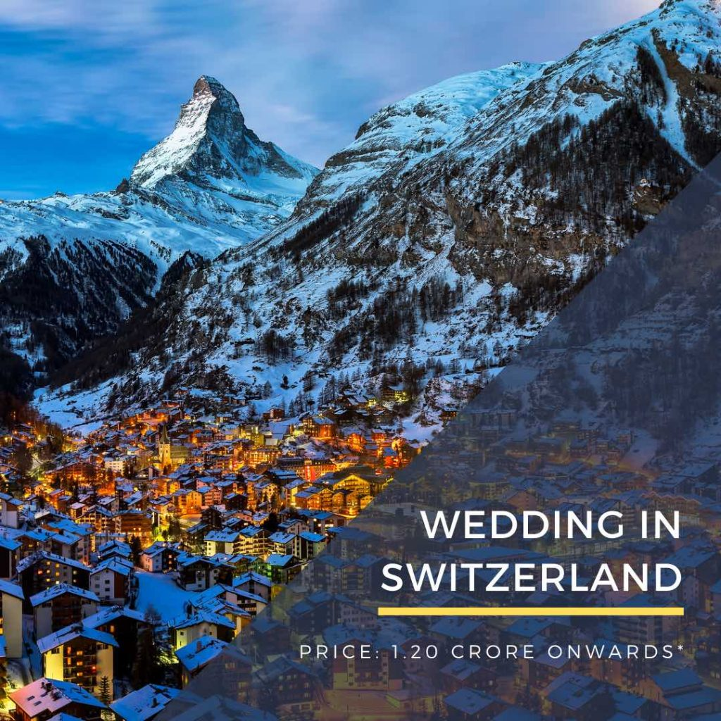Destination Wedding in Switzerland DWC wedding packages