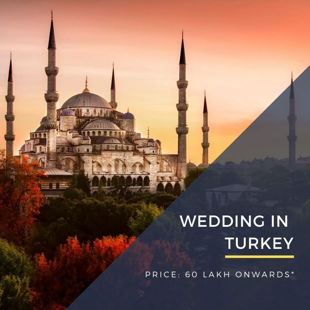 Destination Wedding in Turkey, Istanbul DWC wedding packages